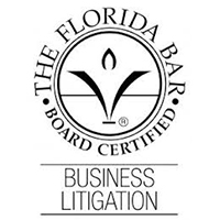 Florida Bar Board Certified Business Litigation Seal